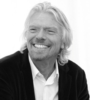 "Branson – ""If you have an idea that's going to make a difference, just do it and give it a go"""