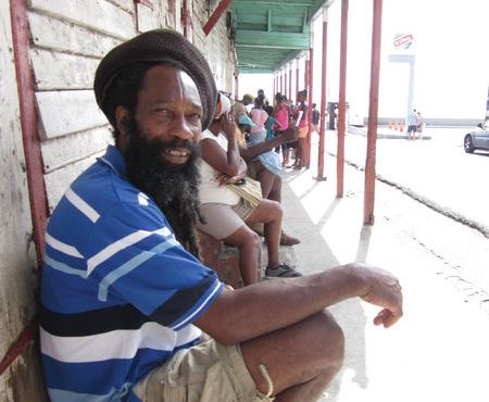 Soufriere Local Man Saint Lucia