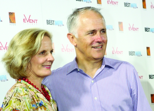 AN71 Lucy_and_Malcolm_Turnbull_(6707567183)